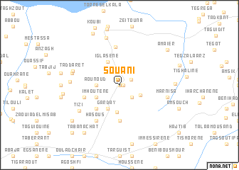 map of Souani