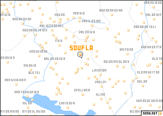 map of Soúfla