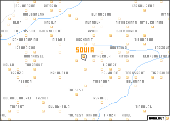 map of Souia