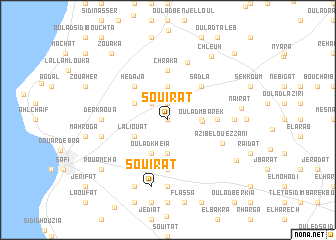 map of Souirat