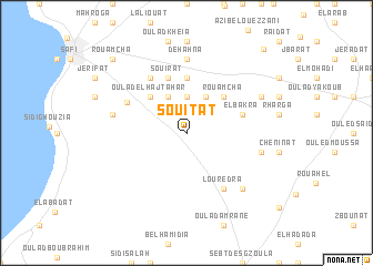 map of Souitat
