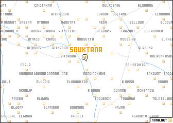 map of Souktana