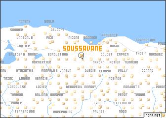 map of Sous Savane