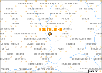 map of Soutelinho