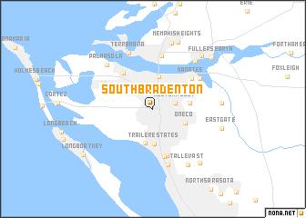 map of South Bradenton