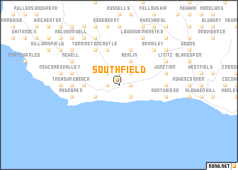 Southfield Jamaica map nonanet
