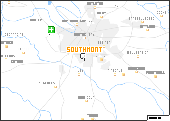 map of Southmont