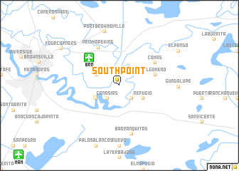 map of South Point