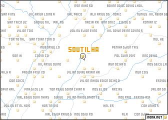 map of Soutilha