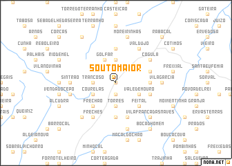 map of Souto Maior