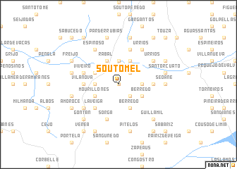 map of Soutomel