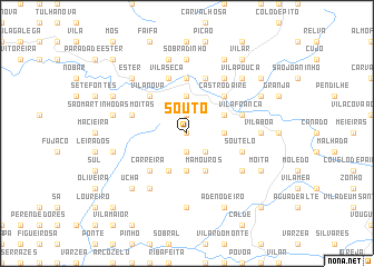 map of Souto