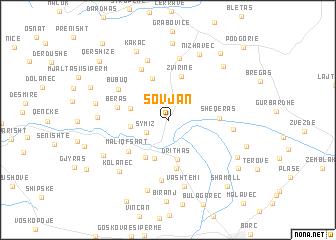 map of Sovjan