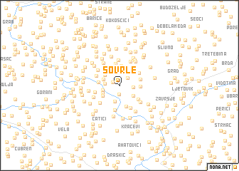 map of Sovrle