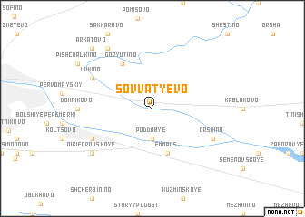 map of Sovvat\