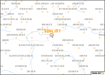 map of Sowliny