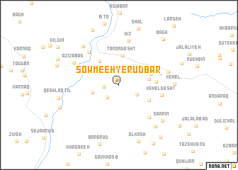 map of Şowme'eh-ye Rūdbār