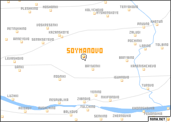map of Soymanovo