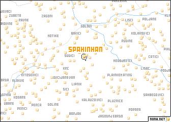 map of Spahin Han
