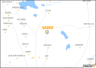 map of Sparr