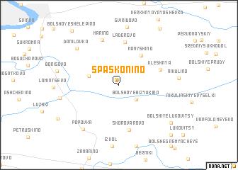 map of Spas-Konino