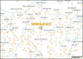 map of Spasojevići