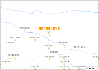 map of Spasskoye