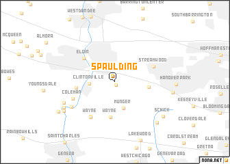 map of Spaulding