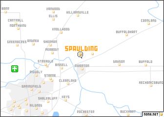 map of Spaulding