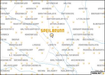map of Speilbrunn