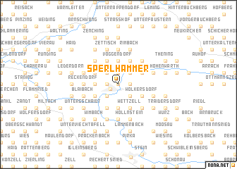 map of Sperlhammer