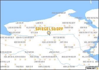 map of Spiegelsdorf