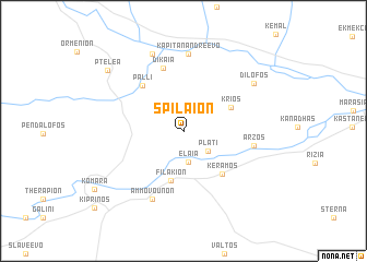 map of Spílaion