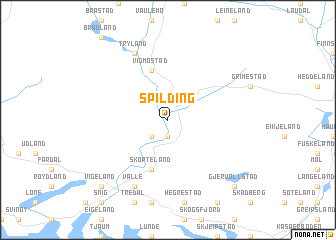 map of Spilding
