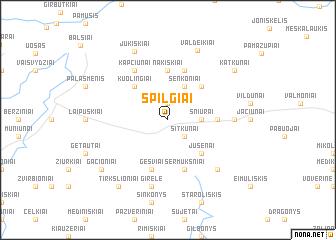 map of Spilgiai