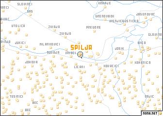 map of Spilja