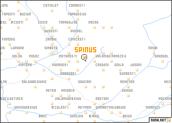 map of Spinuş