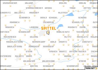map of Spittel