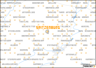 map of Spitzenburg