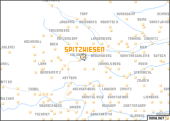 map of Spitzwiesen