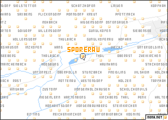 map of Spörerau