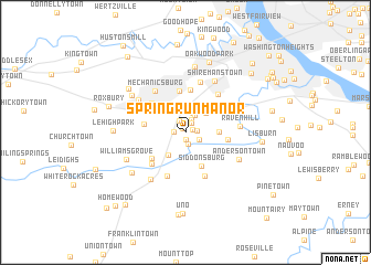 map of Spring Run Manor