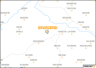 map of Spurganai