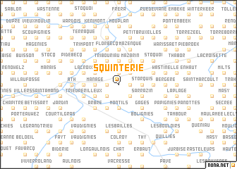 map of Squinterie
