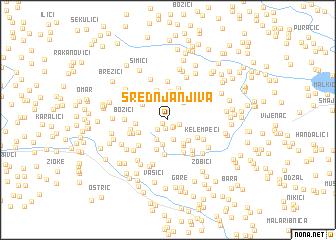 map of Srednja Njiva