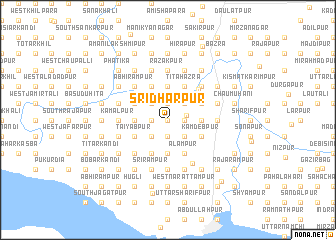 map of Srīdharpur