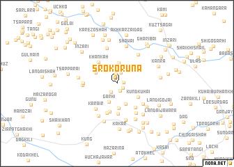 map of Sro Korūna