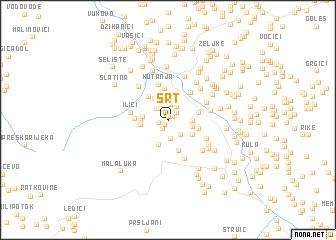 map of Srt