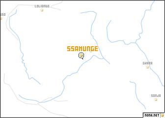 map of Ssamunge