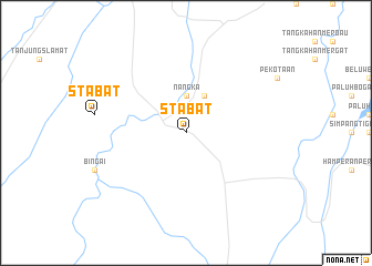 map of Stabat
